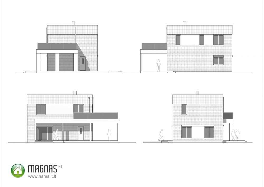 Magnas – Fasadai